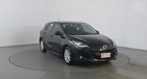 2011 Mazda 3 BL 11 Upgrade SP20 Skyactiv Black Mica 6 Speed Automatic Hatchback Eagle Farm Brisbane North East Preview
