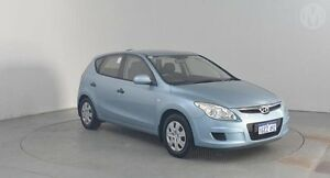 2010 Hyundai i30 FD MY10 SX Clean Blue 4 Speed Automatic Hatchback Perth Airport Belmont Area Preview
