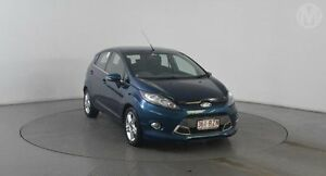 2011 Ford Fiesta WT Zetec Aurora Blue 5 Speed Manual Hatchback Eagle Farm Brisbane North East Preview