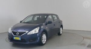 2014 Nissan Pulsar C12 ST Blue 1 Speed Continuous Variable Hatchback Perth Airport Belmont Area Preview