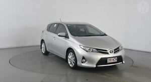 2012 Toyota Corolla ZRE182R Ascent Sport Silver Pearl 6 Speed Manual Hatchback Eagle Farm Brisbane North East Preview