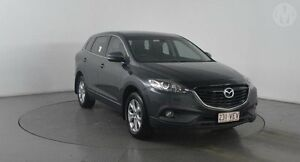 2014 Mazda CX-9 MY14 Classic (FWD) Meteor Grey 6 Speed Auto Activematic Wagon Eagle Farm Brisbane North East Preview