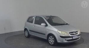 2006 Hyundai Getz TB Upgrade 1.6 Space Silver 5 Speed Manual Hatchback Perth Airport Belmont Area Preview
