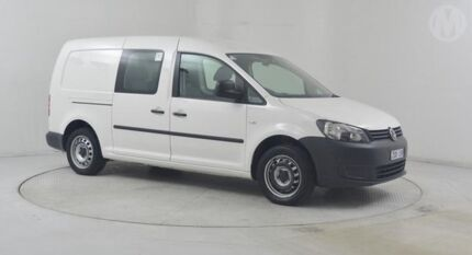 2013 Volkswagen Caddy 2K MY13 Maxi TDI250 White 7 Speed Auto Direct Shift Van Altona North Hobsons Bay Area Preview