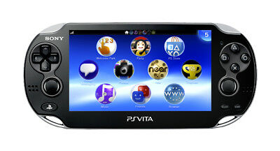 Sony PS Vita PCH-1000 Black Handheld System - 6 month warranty! Trusted seller!