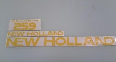 New Holland 259 Hay Rake Decals