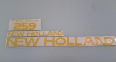 New Holland 259 Hay Rake Decals