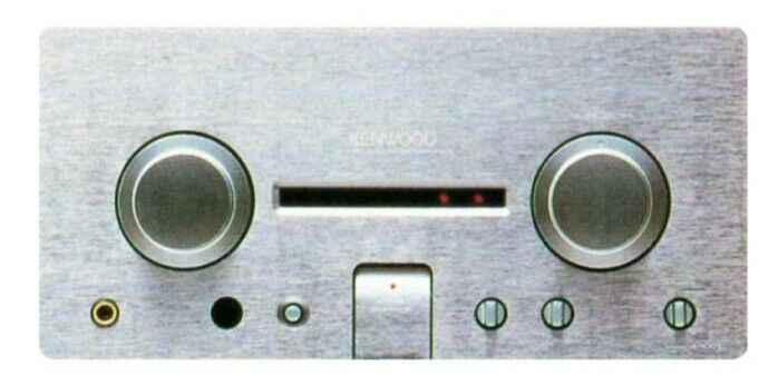 Kenwood A-1001 Limited Edition High End Titanium Series Amplifier Sale