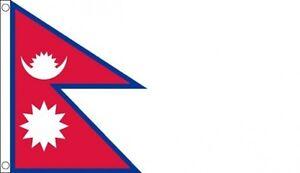 FLAG  NEPAL NEPALESE FLAG 5FT X 3FT