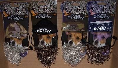 A&E Duck Dynasty Pet Costume Hat with Beard S M L XL Dog Cat Halloween Dress - Halloween Costumes With A Beard