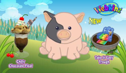 POT BELLIED PIG  - Ganz eStore Webkinz VIRTUAL Pet - CODE ONLY