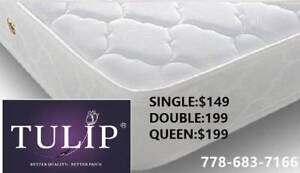 █♣█TULIP BRAND NEW~TIGHTTOP COMFORT MATTRESS~FACTROY DIRECT!