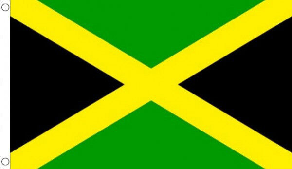 HUGE 8ft x 5ft Jamaica Flag Massive Giant Jamaican Flags