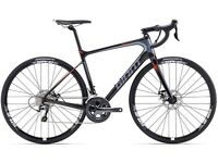 2016 giant defy advanced 3 fully carbon fiber used twice like new with free giant helmet also new