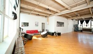 Open Space with Old Building Charm for Rent.