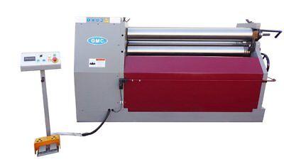 New Gmc 5 X 14 Hydraulic Plate Bending Roll Machine - Free Shipping