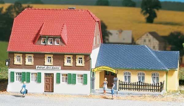 Auhagen 12239 Gauge H0/Tt Village Inn # New Original Packaging #