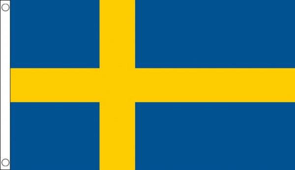 HUGE 8ft x 5ft Sweden Flag Massive Giant Extra Large Swedish Flags