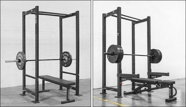 Solid Metal West Side Rack R3 Weightlifting Cage by Rogue – VGC –GREAT FULL SIZE