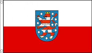 THURINGEN-FLAG-Thuringia-Thruingen-Germany-German-State
