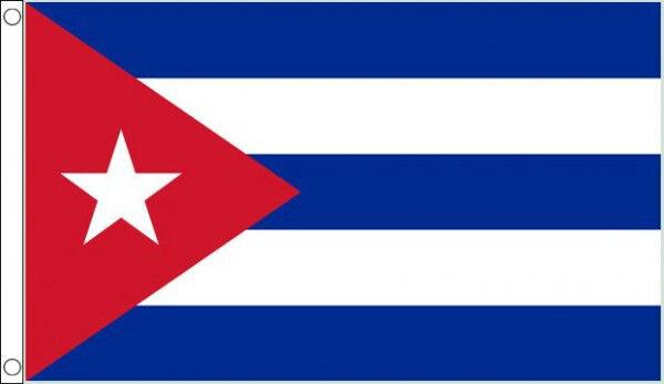 3' x 2' CUBA FLAG Cuban Flags Caribbean Flags