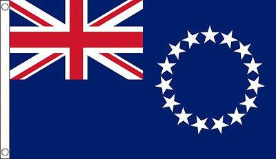 5' x 3' Cook Islands Flag New Zealand Flags Oceania Flags Banner