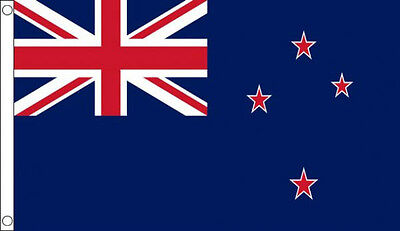 5' x 3' New Zealand Flag  National Flags Oceania Banner