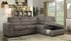 3PC SECTIONAL ASH BROWN ON SALE CALEDON - CALL 905-451-8999(BD-13)
