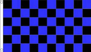 BLACK-and-ROYAL-BLUE-CHECK-FLAG-5-x-3-Checkered-Team