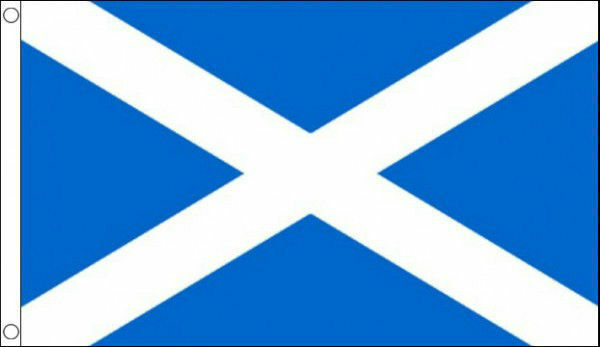Scottish Flag 3ft x 2ft Light Blue Saltire St Andrew Scotland National Flags