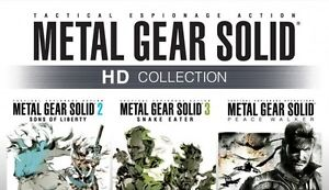 Looking for Metal Gear Solid HD as well as other titles.