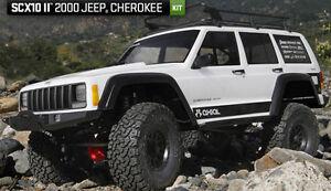 AXIAL AX90046 SCX10 II 2000 Jeep Cherokee 1/10 Scale Electric 4WD Crawler Kit