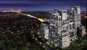 NEW condo in Toronto 1br+den+balcony total 669 sq.ft