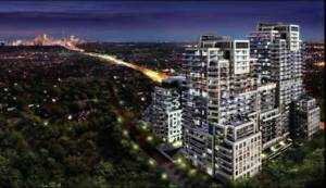 for sale a brand-new condo in Toronto 1br+den+balcony