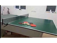 Tennis table tops