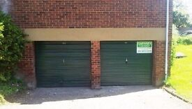 Double garage for rent, secure location, cheap storage for general or vehicle, 24/7 access