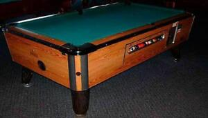 4x8 Coin opp Pool Tables For SALE