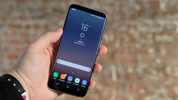 Samsung galaxy s8 With box n all accessories.