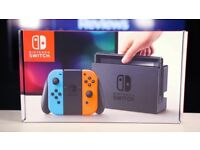 Like New Nintendo Switch Console 32GB in Neon Blue/Red. All original in box, 11 month warranty