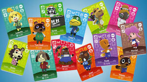 ANIMAL CROSSING AMIIBO CARDS FOR TRADE!