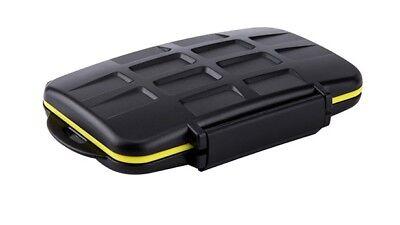 JJC Multi Memory Card Case MC-SD8 Speicherkarten Schutzbox für 8 SD Karten Memory Card Case