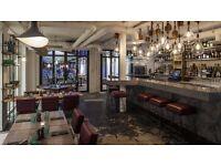 Cool Soho restaurant seeking full-time Waitress/ Waiter/ bar tender.