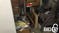 A lot of Boxes, Catering warmers, Fan, Cases & other items