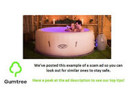 New unopened Lay Z Spa Paris hot tub £150 -- Read the desc before replying to the ad!!!