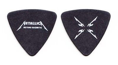 Metallica Robert Trujillo Beyond Magnetic Black Bass Guitar Pick - 2012 Tour