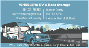 RV Storage $40/mo 8 minutes to St.Albert & West End