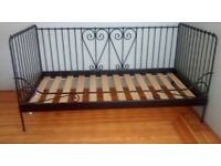 Bed, IKEA daybed, single 3ft