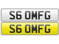 S6 0MFG (S60 MFG) AUDI S6 Personal cherished reg