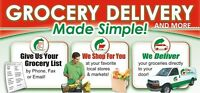 We Shop and Deliver Groceries for You