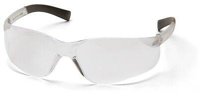 12 Pair Pyramex Ztek Clear Lens Safety Glasses